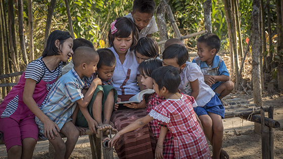 Missionary in Myanmar extends love to unreached