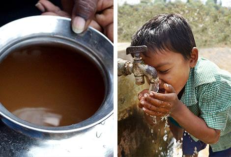 Fighting water scarcity on two levels