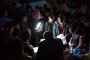 OMI_prayer group refugees Kurdistan