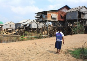 Cambodia remains one of the poorest nations in South East Asia as well as the world. (Wikimedia Commons)