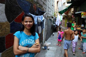 Rizza is enrolled in Compassion's sponsorship program and is working towards her degree in civil engineering. (Photo courtesy Compassion International)