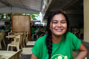 Sarah is enrolled in Compassion's Sponsorship program. (Photo courtesy Compassion International)