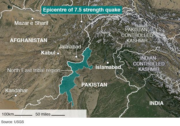 Needs assessments underway in wake of powerful quake in Central Asia