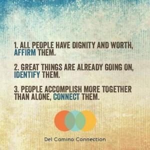 Graphic courtesy of Del Camino Connection via facebook.