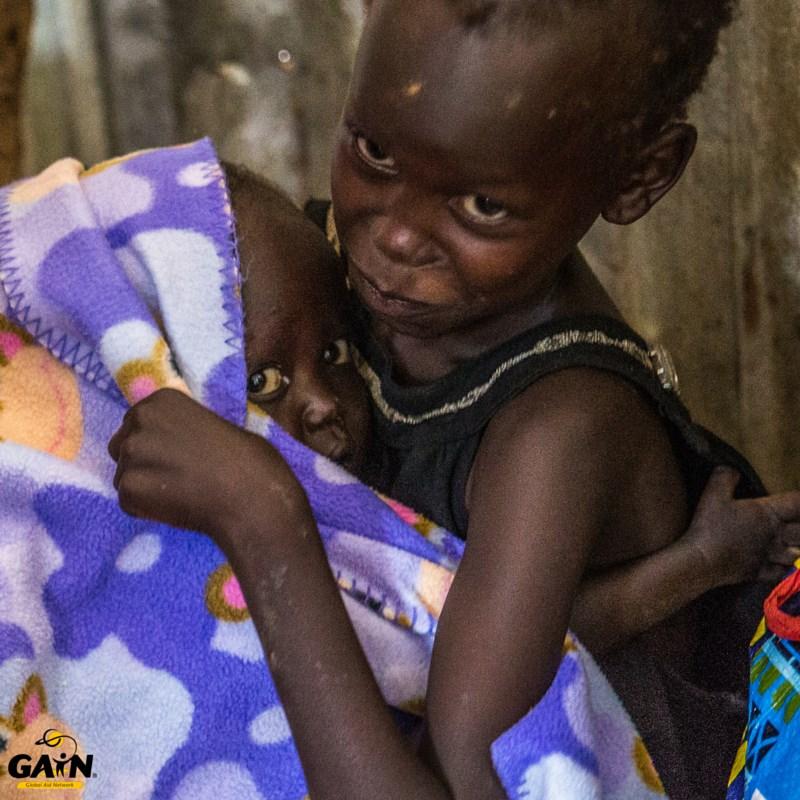 GAIN_little girl refugees south sudan