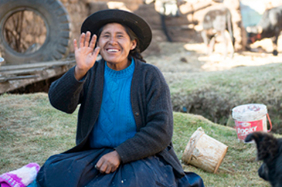 God's Word comes alive for the Corongo Quechua