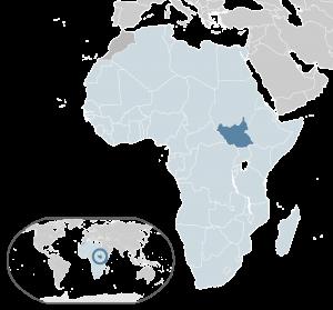 WikimediaCommons_South Sudan map