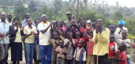 Drinking water to make wells for Rwanda