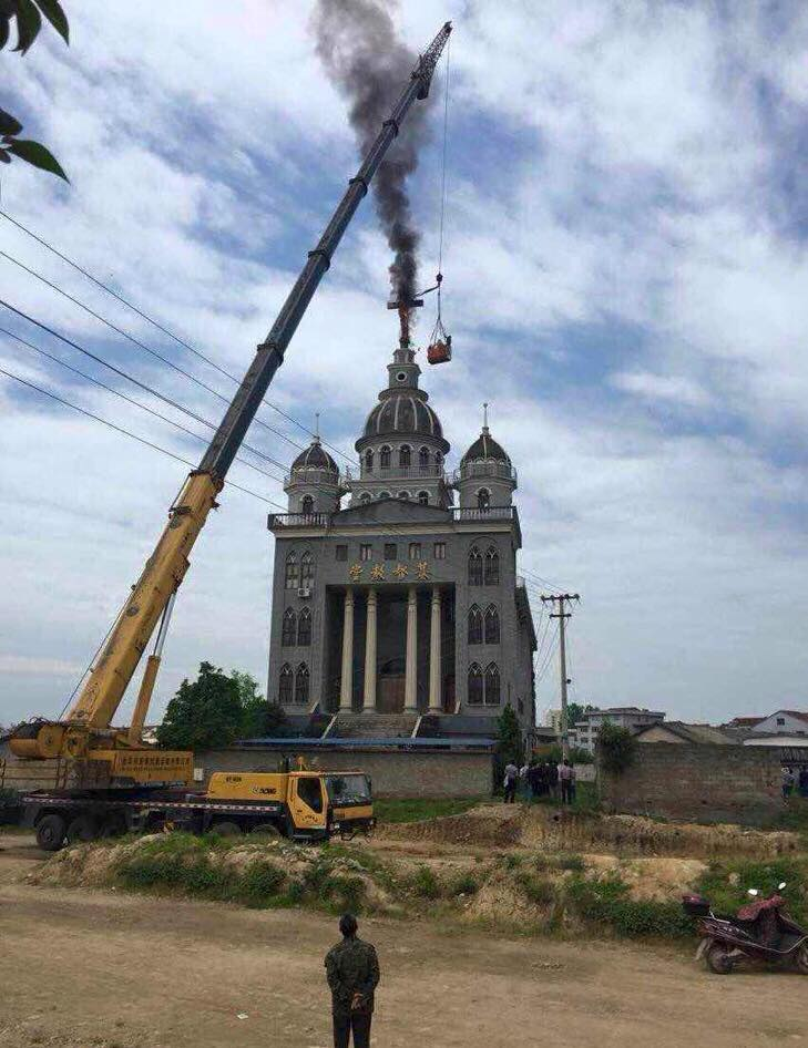 Tearing down the Cross in China: beautification or persecution?