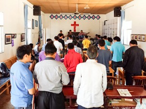 Chinese men find freedom from addiction through Christian rehabilitation programs.