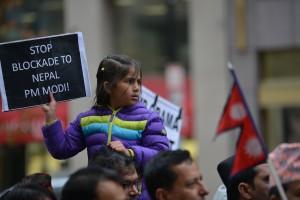 Flickr_Nepal protest via S Pakhrin 12-04-15