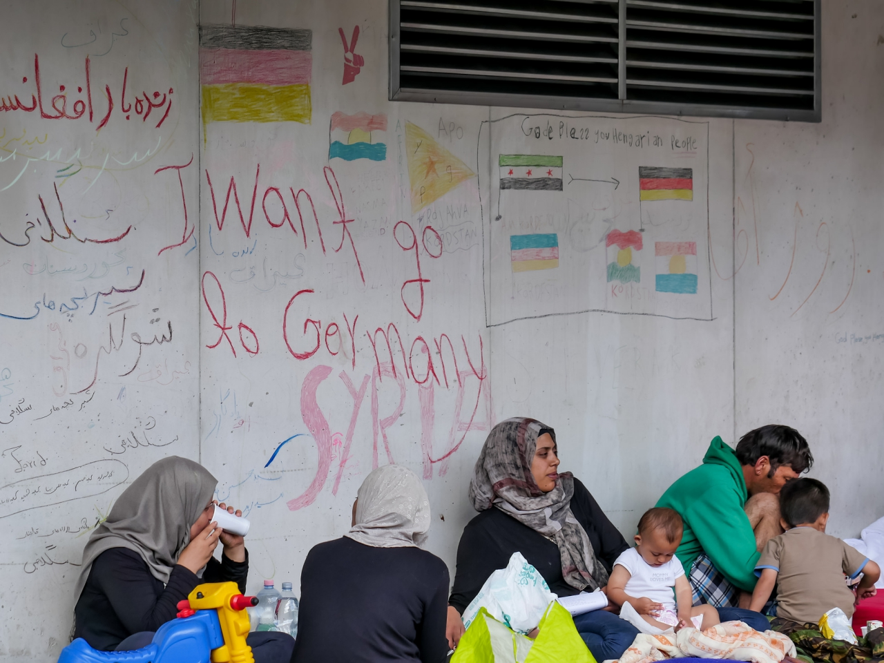 A refugee finds hope in Hungary