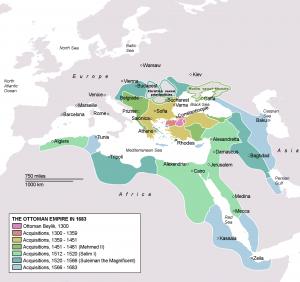 IslamicEmpire_OttomanEmpireIn1683