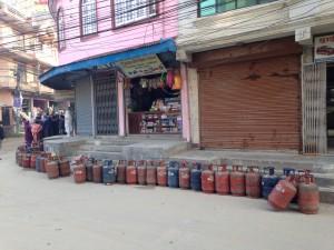 Wikipedia_gas cylinders Nepal blockade