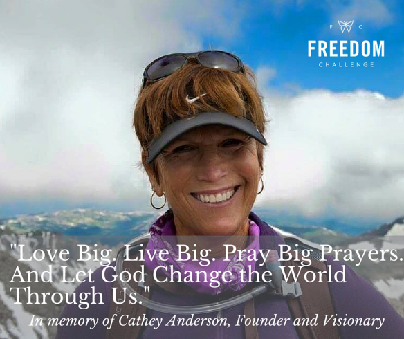 Freedom Challenge says goodbye to founder