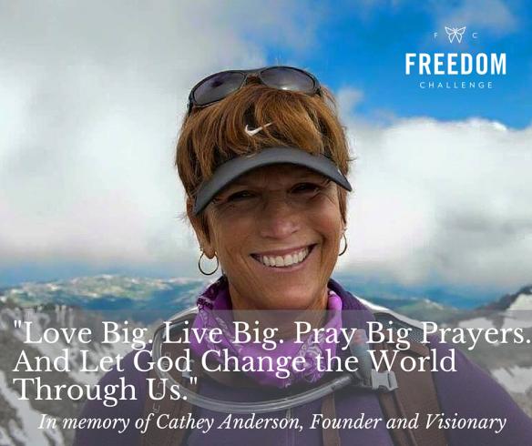 Freedom Challenge says goodbye to founder