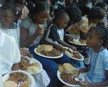 (Photo Courtsey FHWL) For Haiti with Love Christmas dinner.