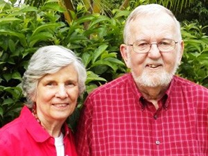 Keith and Wilma Forster (Photo courtesy of Faith Comes by Hearing)