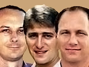 Dave Mankins, Mark Rich, and Rick Tenenoff were persecuted for their faith (Photo courtesy of Faith Comes by Hearing)