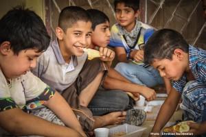 CAM_Christmas outreach Syrian children