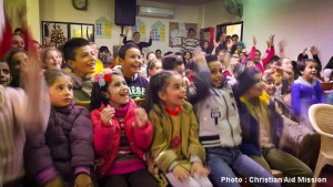 CAM_Christmas party Syrian children