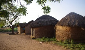 African village. (Photo courtesy Frontiers)