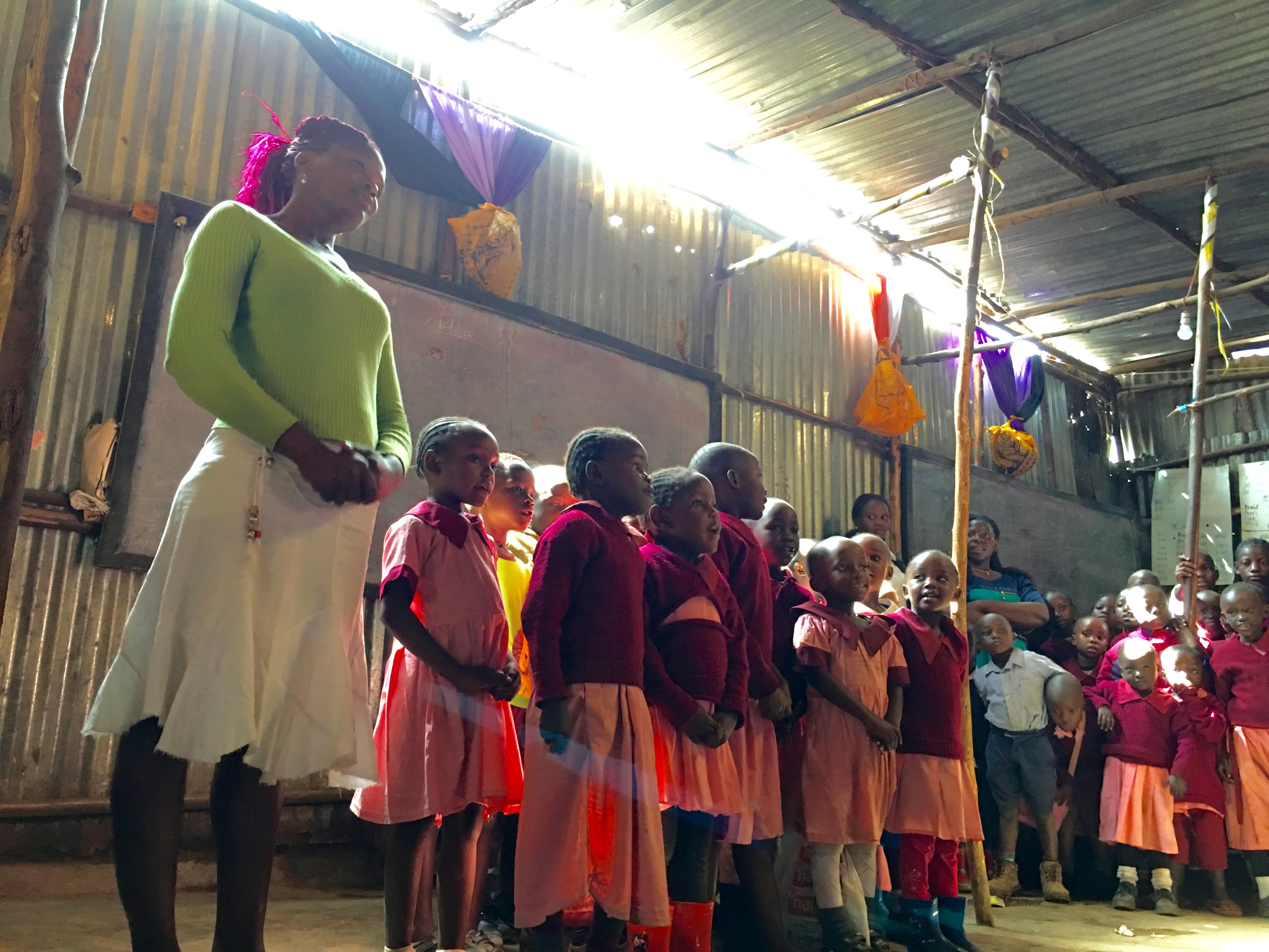 Hope in the heart of Mathare Slums