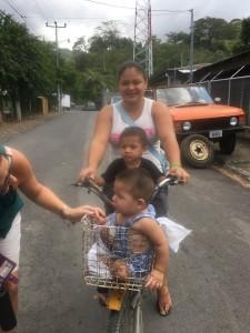 (Photo courtesy Beautiful Feet International, Costa Rican mom and kids)