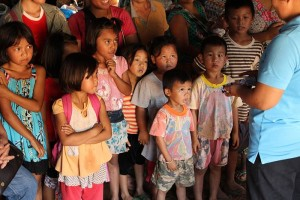 A group of children in Southeast Asia learning just how priceless their lives truly are. (Photo, caption courtesy E3 Partners)