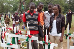 (Photo courtesy World Watch Monitor/Garissa memorial)