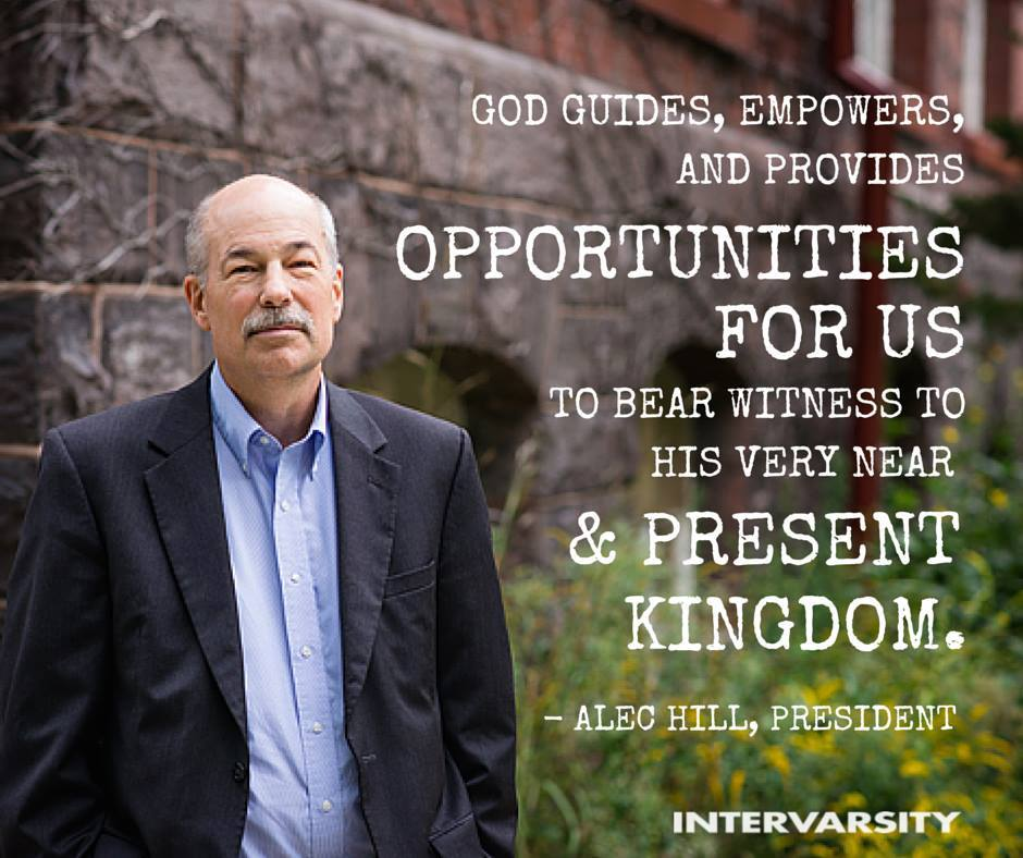 Former president Alec Hill returns to InterVarsity