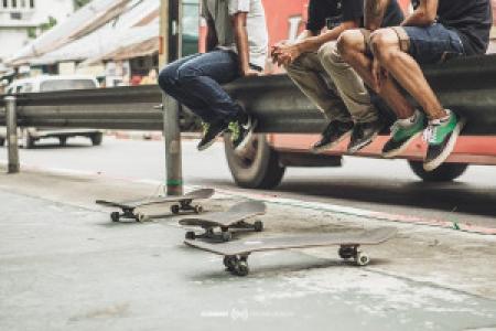 Skating into the Gospel