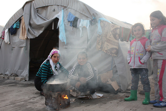 Combating the harsh impact of winter on Syrian refugees