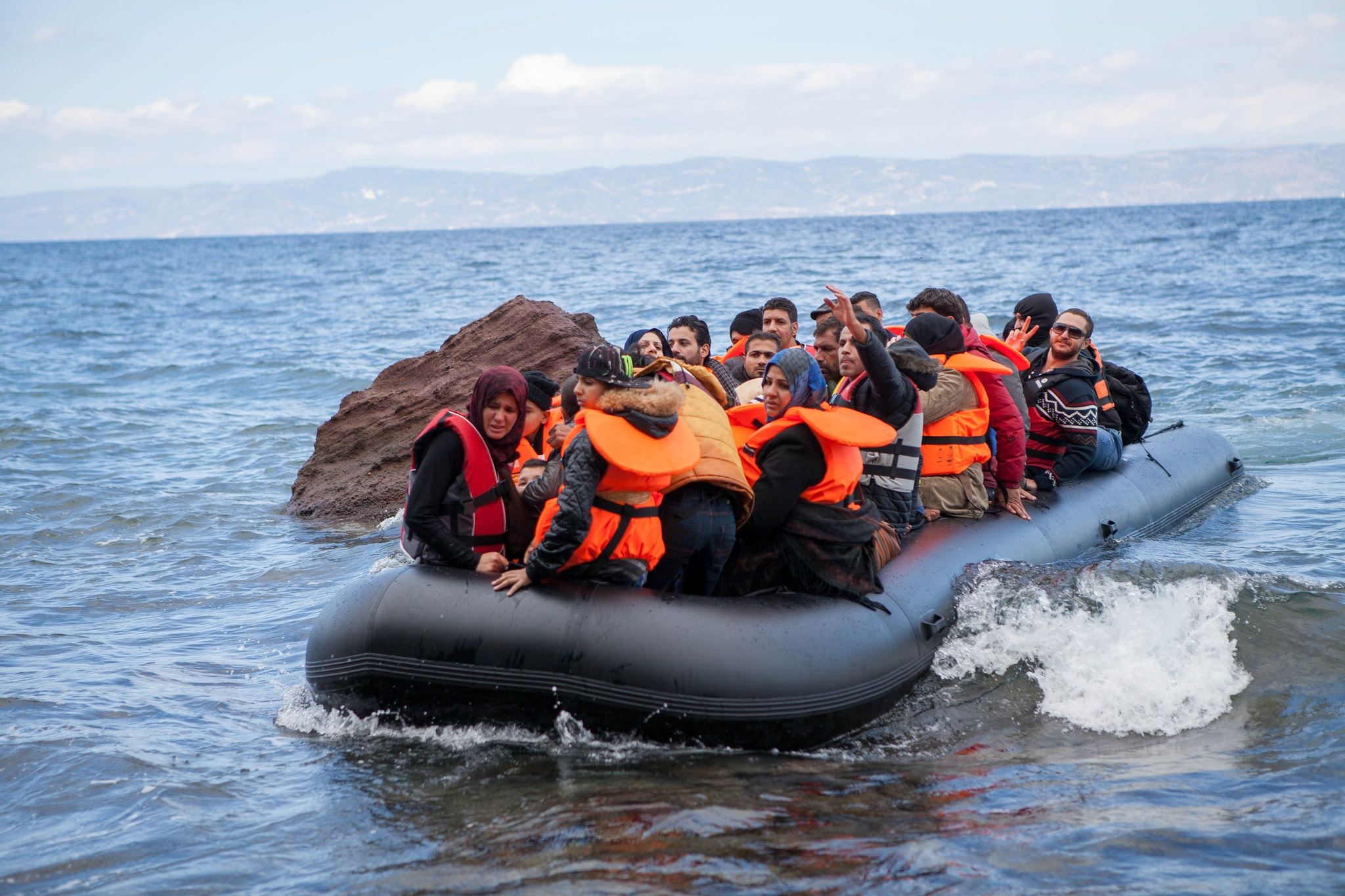 Refugees plan to flood Europe this spring