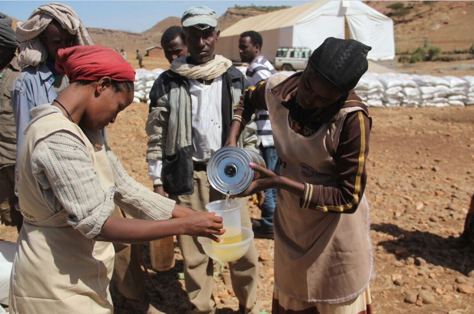 Providing tangible hope to Ethiopian families in crisis