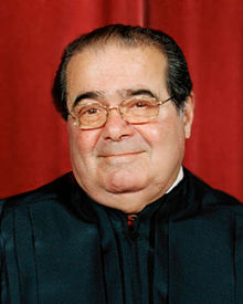 (U.S. Supreme Court Justice Antonin Scalia, courtesy Wikipedia)