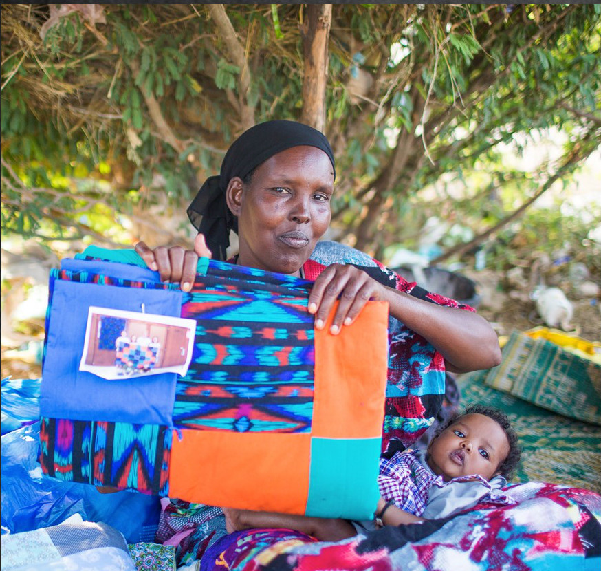 Help a refugee on National Quilting Day
