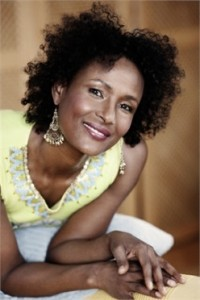 Waris Dirie (Photo courtesy SAT-7)