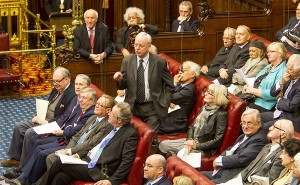 The House of Lords in session. (Photo credit: @UKHouseofLords)