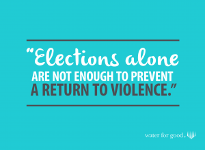 (Graphic courtesy Water for Good)