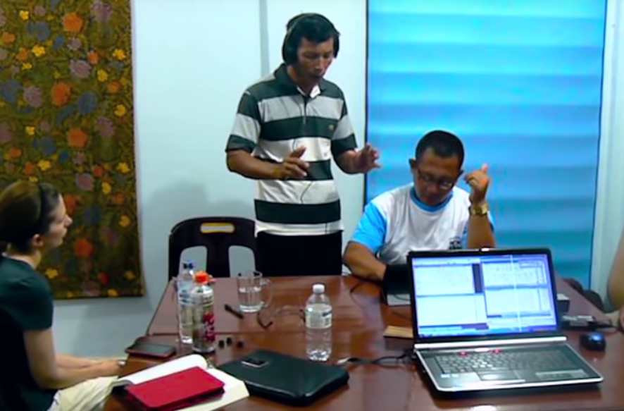 Three ministries render a Bible translation tool for oral cultures