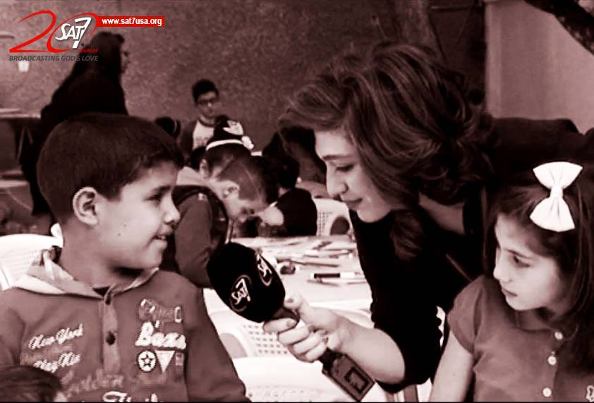 Children in Syria offered hope on Easter