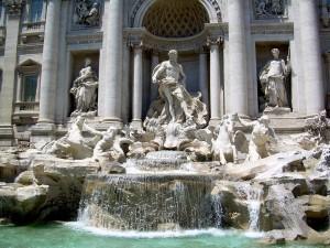 (Photo Courtesy Allan Watt via Flickr) Trevi Fountain.