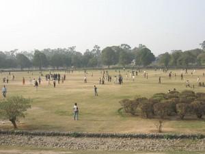 A view of Gulshan-e-Iqbal Park, Lahore, Pakistan. (Wikipedia)