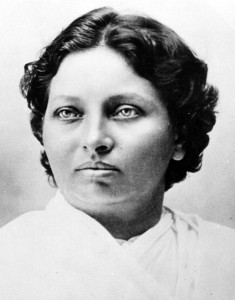 Pandita Ramabai, founder of the Ramabai Mukti Mission/ Help India Kids (Photo courtesy of Help India Kids via Facebook).