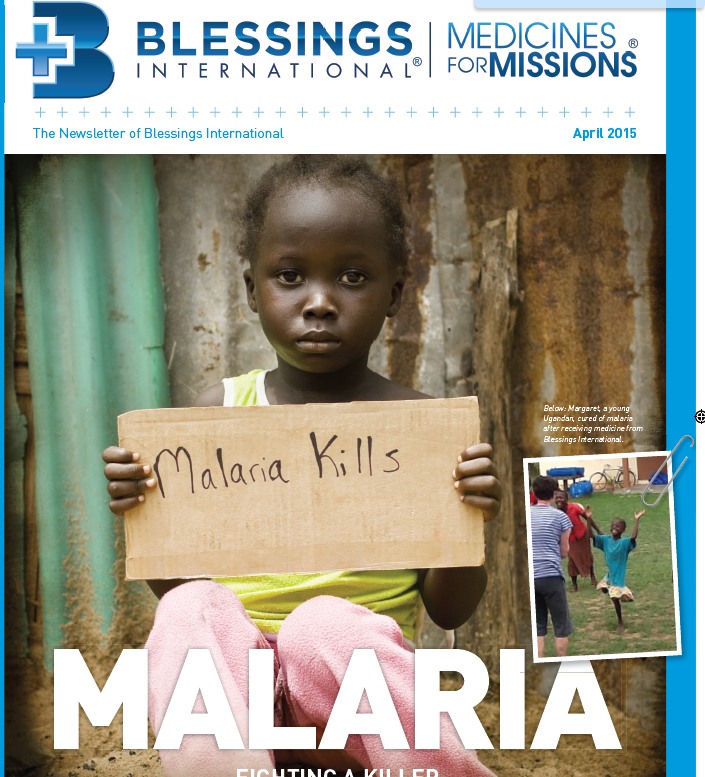 Be part of the solution: help end malaria for good