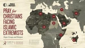 (Map courtesy VOM-USA)
