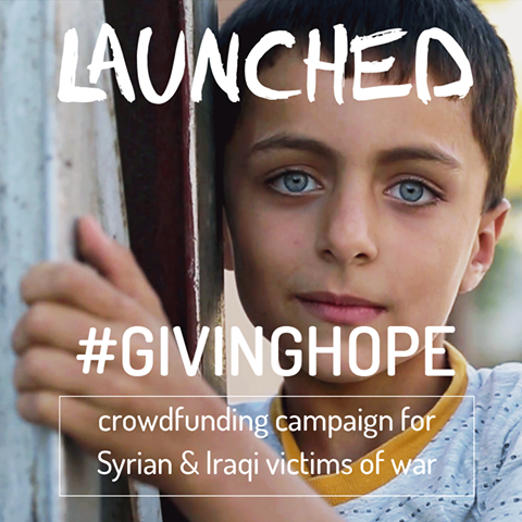 #GivingHope in the midst of ISIS