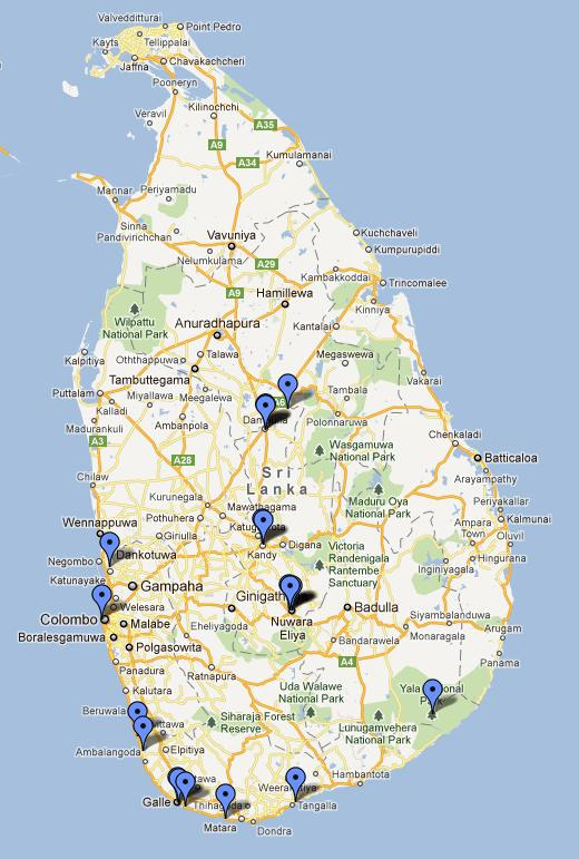 Sri Lanka's rains bury villages