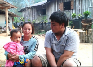 Suntalee and her husband Kitti Safon with son (Photo courtesy of FARMS)